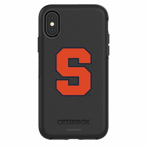 Syracuse Orange OtterBox iPhone X Symmetry Black Case