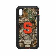 Syracuse Orange OtterBox iPhone XS Max Defender Realtree Camo Case