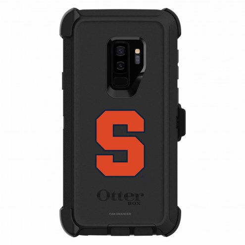 Syracuse Orange OtterBox Samsung Galaxy S9+ Defender Black Case
