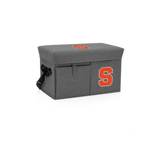 Syracuse Orange Ottoman Cooler & Seat