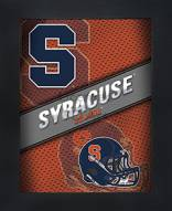Syracuse Orange Framed 3D Wall Art