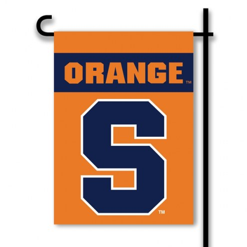 Syracuse Orange Premium 2-Sided Garden Flag