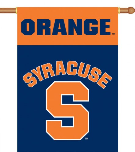 "Syracuse Orange Premium 28"" x 40"" Two-Sided Banner"