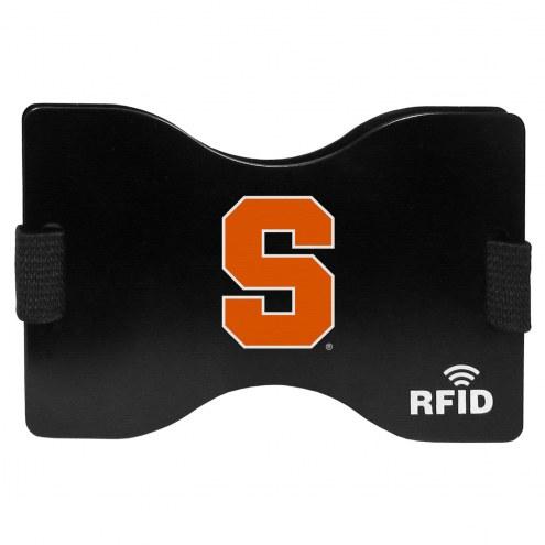 Syracuse Orange RFID Wallet
