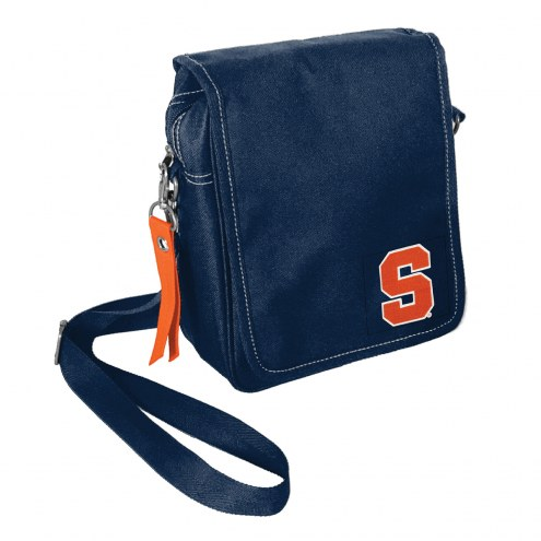 Syracuse Orange Ribbon Satchel