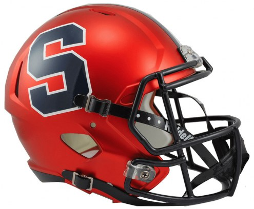 Syracuse Orange Riddell Speed Collectible Football Helmet