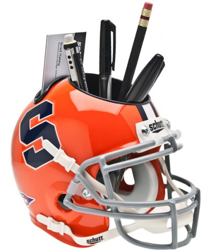 Syracuse Orange Schutt Football Helmet Desk Caddy