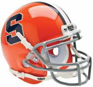 Syracuse Orange Schutt Mini Football Helmet