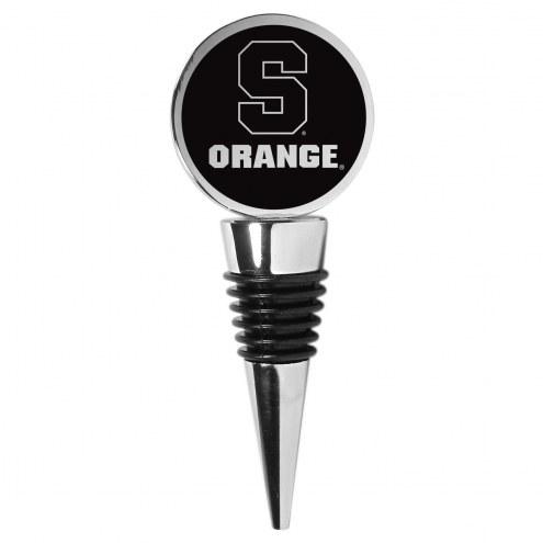 Syracuse Orange Wine Stopper