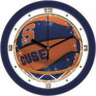 Syracuse Orange Slam Dunk Wall Clock
