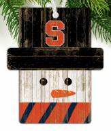 Syracuse Orange Snowman Ornament