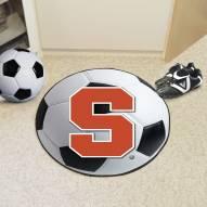 Syracuse Orange Soccer Ball Mat