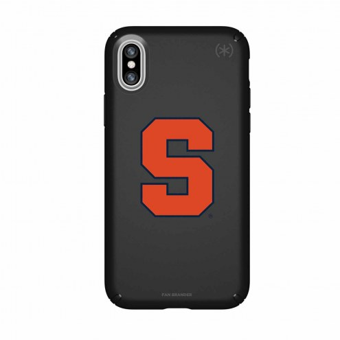 Syracuse Orange Speck iPhone X Presidio Black Case