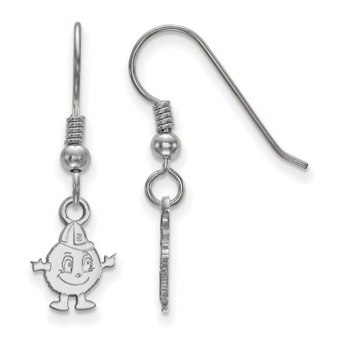 Syracuse Orange Sterling Silver Extra Small Dangle Earrings