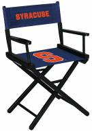 Syracuse Orange Table Height Director's Chair