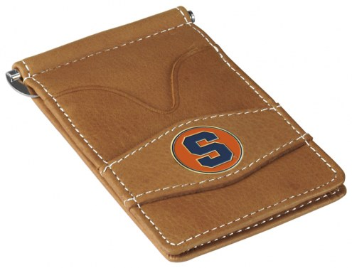 Syracuse Orange Tan Player's Wallet