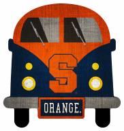 Syracuse Orange Team Bus Sign