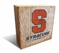 Syracuse Orange Team Logo Block