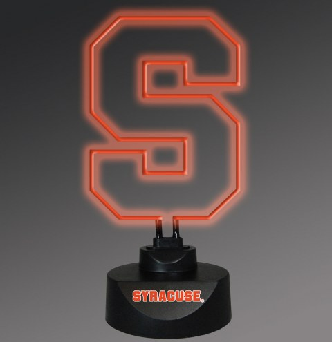 Syracuse Orange Team Logo Neon Lamp