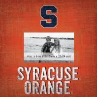 "Syracuse Orange Team Name 10"" x 10"" Picture Frame"