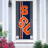 Syracuse Orange Door Banner