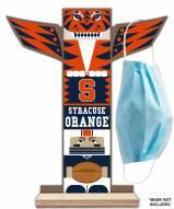 Syracuse Orange Totem Mask Holder