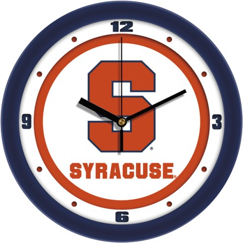 Syracuse Orange Traditional Wall Clock