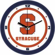 Syracuse Orange Traditional Wall Clock