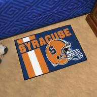 Syracuse Orange Uniform Inspired Starter Rug