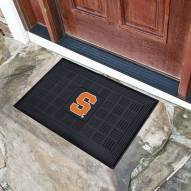 Syracuse Orange Vinyl Door Mat