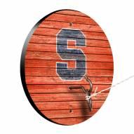Syracuse Orange Weathered Design Hook & Ring Game