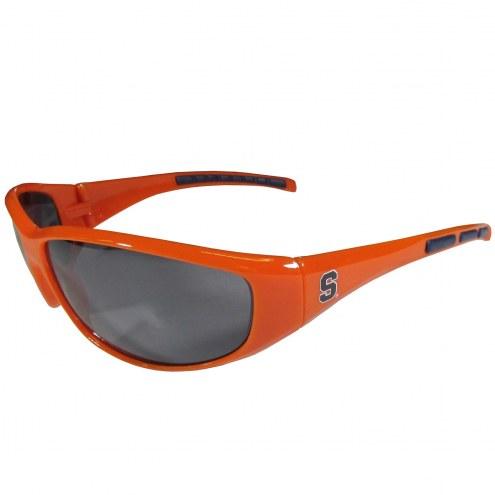 Syracuse Orange Wrap Sunglasses
