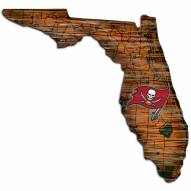 """Tampa Bay Buccaneers 12"""" Roadmap State Sign"""