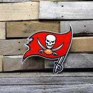 "Tampa Bay Buccaneers 12"" Steel Logo Sign"