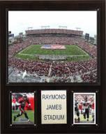"""Tampa Bay Buccaneers 12"""" x 15"""" Stadium Plaque"""