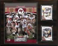 """Tampa Bay Buccaneers 12"""" x 15"""" Team Plaque"""