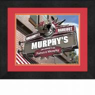 Tampa Bay Buccaneers 13 x 16 Personalized Framed Sports Pub Print