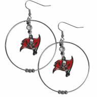 """Tampa Bay Buccaneers 2"""" Hoop Earrings"""