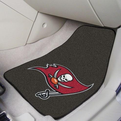 Tampa Bay Buccaneers 2-Piece Carpet Car Mats