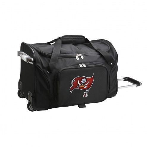 "Tampa Bay Buccaneers 22"" Rolling Duffle Bag"