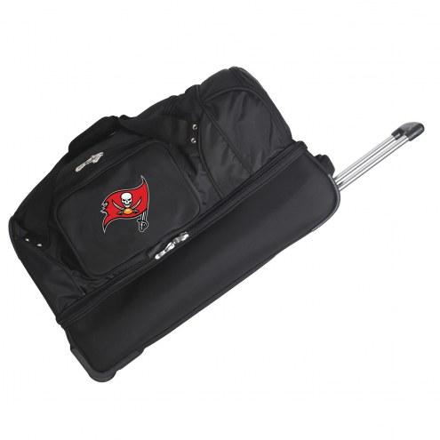 "Tampa Bay Buccaneers 27"" Drop Bottom Wheeled Duffle Bag"