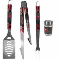 Tampa Bay Buccaneers 3 Piece Tailgater BBQ Set and Season Shaker