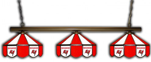 Tampa Bay Buccaneers 3 Shade Pool Table Light