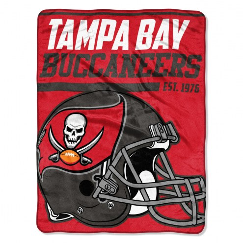 Tampa Bay Buccaneers 40 Yard Dash Blanket
