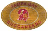 """Tampa Bay Buccaneers 46"""" Heritage Logo Oval Sign"""