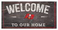 """Tampa Bay Buccaneers 6"""" x 12"""" Welcome Sign"""