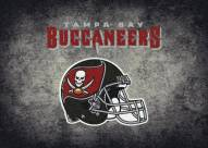 Tampa Bay Buccaneers 6' x 8' NFL Distressed Area Rug