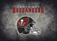 Tampa Bay Buccaneers 8' x 11' NFL Distressed Area Rug
