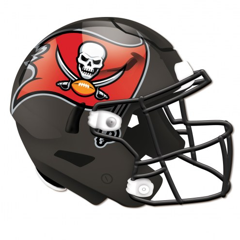 Tampa Bay Buccaneers Authentic Helmet Cutout Sign