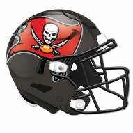 Tampa Bay Buccaneers Authentic Helmet Cutout Sign